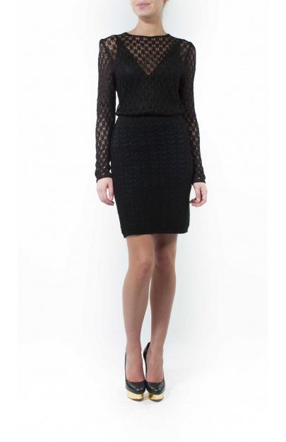 Diamond Jacquard Skirt