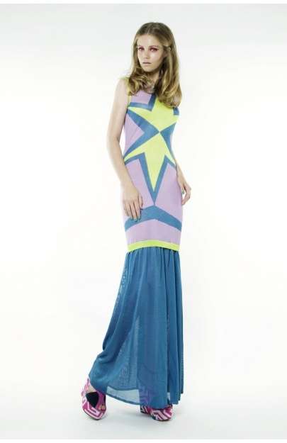 Hexagram Star Dress